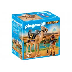 Playmobil Egyptian Warrior With Camel 5389 4008789053893