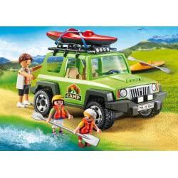 Playmobil Όχημα 4X4 Και Καγιάκ 6889 4008789068897