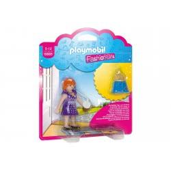 Playmobil Fashion Girl Με Μοντέρνο Φόρεμα 6885 4008789068859