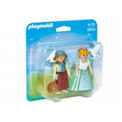 Playmobil Duo Pack πριγκίπισσα και υπηρέτρια 6843 4008789068439