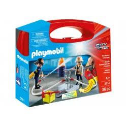 Playmobil Βαλιτσάκι Πυροσβέστες Με Αντλία Νερού 5651 4008789056511