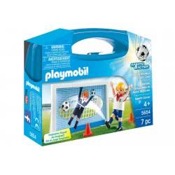 Playmobil Βαλιτσάκι Σετ εξάσκησης ποδοσφαίρου 5654 4008789056542