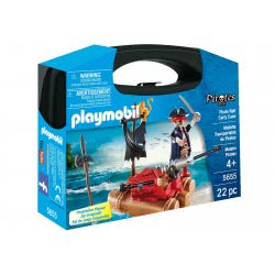 Playmobil Pirate Raft Carry Case 5655 4008789056559