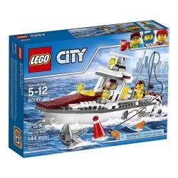 LEGO City Great Vehicles Βάρκα Για Ψάρεμα 60147 5702015865739