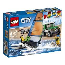 LEGO City Great Vehicles 4X4 Με Καταμαράν 60149 5702015865777