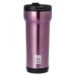 eco life COFFEE THERMOS MUG PINK 420Ml 33-BO-4005 5208009001454