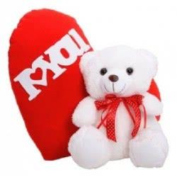 MUCH-TOYS Αρκουδάκι Bobo 20Ek Με Καρδιά Στην Πλάτη W2015 5206238215154