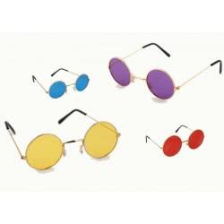 Christakopoulos Γυαλιά αποκριάτικα στρόγγυλα 4 χρώματα 7804 5212007535651