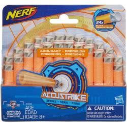 Hasbro Nerf N-Strike Elite AccuStrike Series 24-Pack Refill Βελάκια C0163 5010993342594