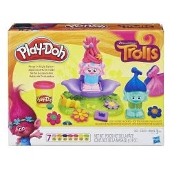 Hasbro Play-Doh Trolls Press N Style Salon B9027 5010993347650