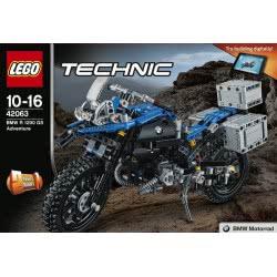 LEGO Technic BMW R 1200 GS Adventure 42063 5702015869706
