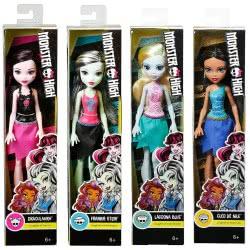 Mattel Monster High - Μαζορέτες (4 Σχέδια) DNV65 / ASST 887961308440
