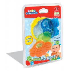 Clementoni baby Βρεφικό Παιχνίδι Οδοντοφυΐας Ζωάκια του Δάσους 1000-17060 8005125170609