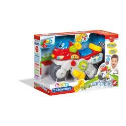 As company Clementoni Baby Βρεφικό Παιχνίδι Αρης Γκαζιάρης 1000-63209 8005125632091