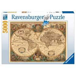 Ravensburger Παζλ 5000τμχ Ιστορικός Χάρτης 17411 4005518174119