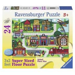 Ravensburger Παζλ Δαπέδου Δρόμοι Της Πόλης 05398 4005556053988