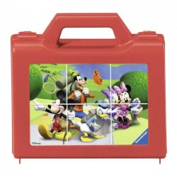 Ravensburger Κύβοι Μickey Mouse 07465 4005556074655