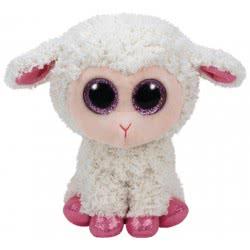 As company TY Χνουδωτό πρόβατο κρεμ 15 εκατοστά 1607-37211 008421372119