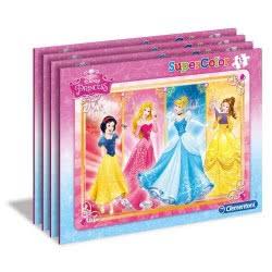 Clementoni Παζλ 15 S.C. Disney Princess 1200-22224 8005125222247