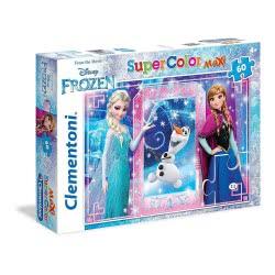 Clementoni Παζλ 60 Maxi S.C. Disney- Έλσα, Αννα Και Όλαφ Toys-Shop 1200-26411 8005125264117