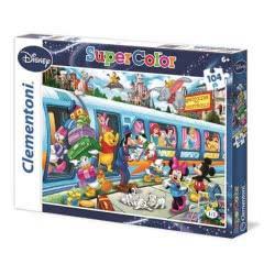 Clementoni Παζλ 104 S.C Disney-Train 1210-27884 8005125278848
