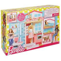 Mattel Barbie Νέο Σπιτάκι - Βαλιτσάκι DVV47 887961374971