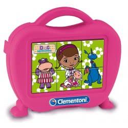 Clementoni Παζλ κύβοι 6τεμ μικρή Γιατρος 1100-40651 8005125406517