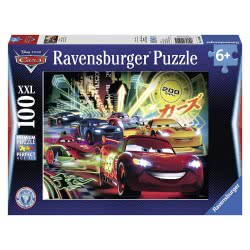 Ravensburger Παζλ 100Τεμ Cars Neon 10520 4005556105205