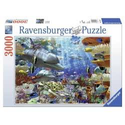 Ravensburger Παζλ 3000τεμ. Υποθαλάσσια Ζωή 17027 4005556170272