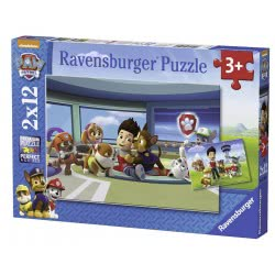 Ravensburger Παζλ 2χ12 Paw Patrol 07598 4005556075980
