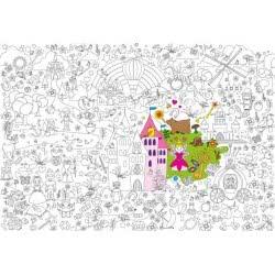 OEM Fantastick Super Χρωμοαφίσα 100X70εκ Fairytale Παραμύθι af.03.tal.70.100 5213002420263