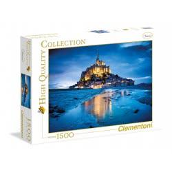 Clementoni Παζλ 1500τεμ. H.Q. Le Mont Saint Michel 1220-31994 8005125319947