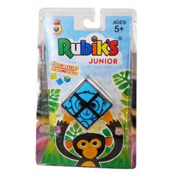 Rubiks Rubik`S Cube NEW JR BLUE And YELLOW SMALL CLAMSHELL 5033 RUBI 5221275905677
