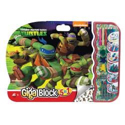 As company Σετ Ζωγραφικής Giga Block 5 Σε 1 Turtles 1023-62708 5203068627089