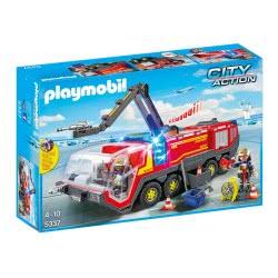 Playmobil Πυροσβεστικό όχημα αεροδρομίου με φώτα και ήχο 5337 4008789053374