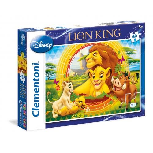 Clementoni Παζλ 60Τεμ. S.C. Disney Ο Βασιλιάς Των Λιονταριών 1200-26923 8005125269235