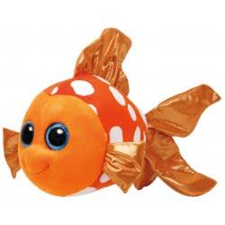 ty Χνουδωτό Ψάρι Πορτοκαλί 23Εκ. 1607-37146 008421371464