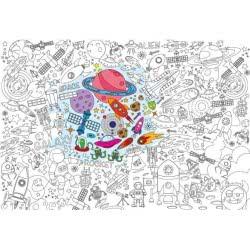 OEM Fantastick Super Χρωμοαφίσα 100x70εκ Space Διάστημα af.02.spa.70.100 5213002420256