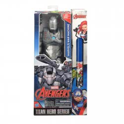 Hasbro Λαμπάδα Avengers Titan Hero Figure Φιγούρες δράσης 30εκ War Machine B6661-WA