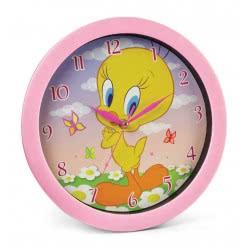HOLLYTOON Ρολόι τοίχου Tweety Ροζ ( WC039000) 5205125390004