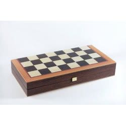 MANOPOULOS Τάβλι-Σκάκι Eco 48cm Κλασικό με Wenge Πλαίσιο by TSX3CV 5221275905837