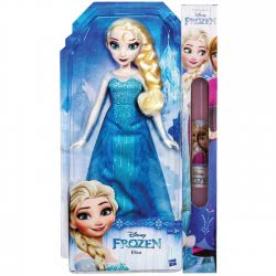 Hasbro Λαμπάδα Κούκλα Έλσα FROZEN CLASSIC DOLL B5161