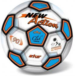 star Μπάλα 21Cm Soccer New Action Διαφανή Σε 2 Χρώματα 10/958 5202522009584