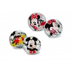 star Μπάλα 11Cm Disney Mickey And Minnie Διαφανή 12/2893 5202522128933