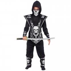 Christakopoulos Αποκριάτικη Στολή Ninja Ασημί Νο 10 5025-3 5212007539932