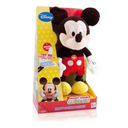 GIOCHI PREZIOSI Mickey Mouse Club House Λούτρινα Με Ήχους - 2 Σχέδια MKE01000 8056379033493