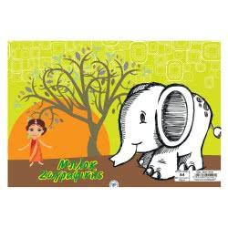 A&G PAPER Μπλοκ Ζωγραφικής Παιδικό A4 40Φ 15196 5203296151967