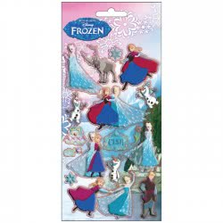 Diakakis imports Αυτοκολλητα Puffy Disney Frozen 560593 5205698168703