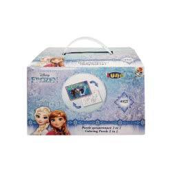 Diakakis imports Puzzle Χρωματισμού Κύβος 2 Όψεων Frozen 561625 5205698204852