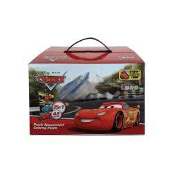 Diakakis imports Puzzle Χρωματισμού Κύβος 2 Όψεων Cars 561626 5205698204876